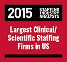 Staffing Industry Analysts 2015 Largest Clinical/Scientific Staffing Firms in the US
